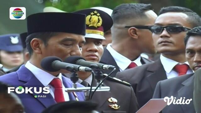 "Viral Pidato Jokowi saat Pemakaman Ani Yudhoyono, Sebut ""Hadirin yang Berbahagia"""