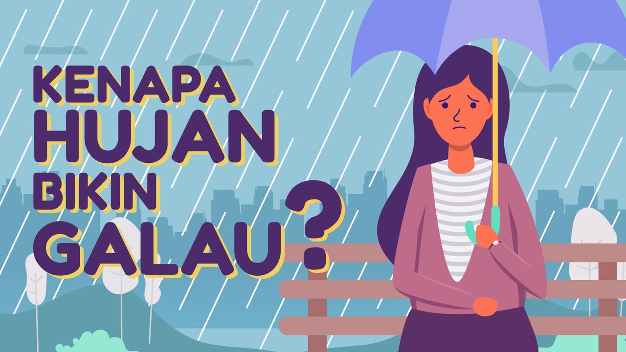 Yang Suka Galau Saat Hujan Mampir Di Mari Gan! [Animasi]