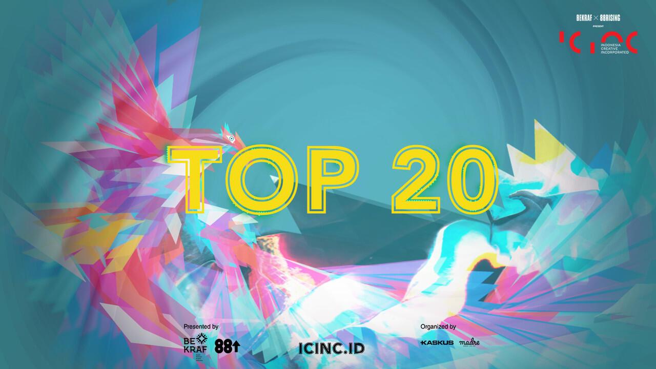 Siapakah Top 20 Finalist ICINC yang Akan Mengikuti Jejak Rich Brian? Vote Disini Yuk!