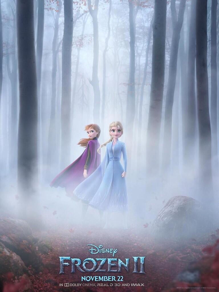 Disney Rilis Official Trailer, Poster, dan Sinopsis Film 'Frozen 2'