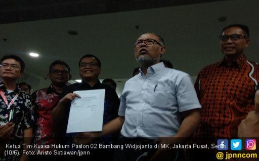 Resmi Diregistrasi, Ini Delapan Tuntutan Tim Prabowo - Sandi di MK