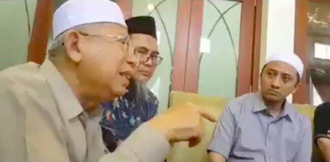 Refly Harun Pastikan Ma'ruf Amin Berpeluang Didiskualifikasi