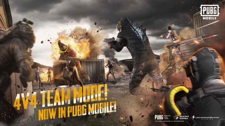 Update Terbaru dari PUBG Mobile, Kehadiran Godzilla dan Ghidorah