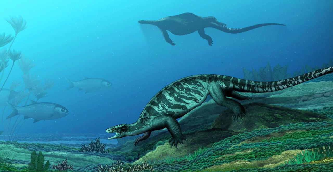 Gak Kalah Keren dari Jurasik, inilah 45 Hewan Unik dari Periode Triasik