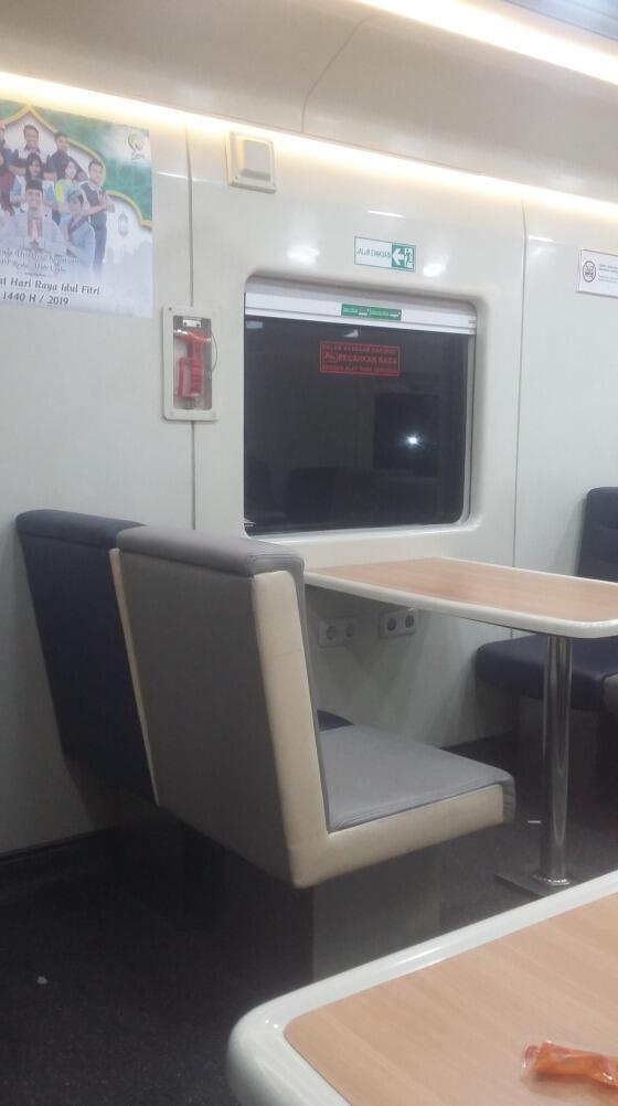 Ternyata Sudah Ada Mushola Di Kereta Taksaka