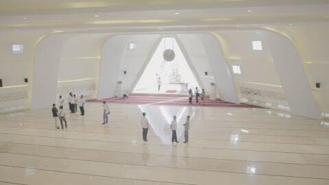 Akhir Polemik 'Simbol Dajjal' di Masjid Al-Safar