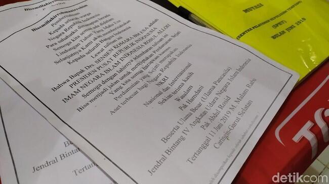 Ini Surat 'Sensen Presiden Indonesia' yang Gegerkan Warga Garut