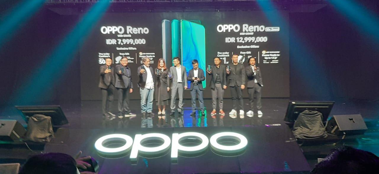 Tonton Peluncuran OPPO Reno yang punya kemampuan 10x Hybrid Zoom, Disini Gan!