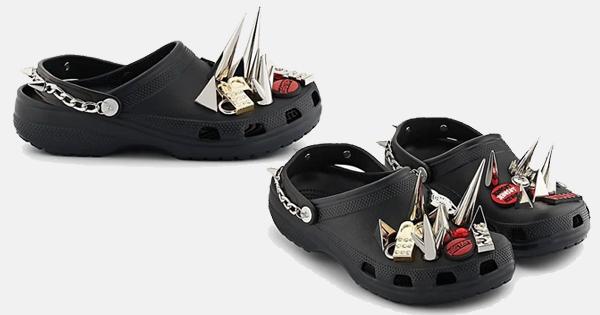 'Ugly Shoes' Punk dari Crocs, Buat Lo Si Anak Punk!