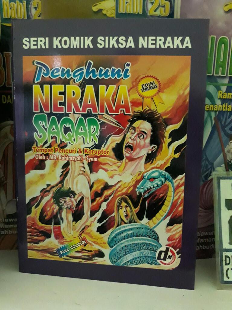 Nostalgia dengan Komik Siksa Neraka, Ada yang Pernah Baca?