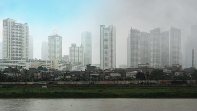 Pagi Ini Jakarta Jadi Kota dengan Polusi Udara Terburuk di Dunia