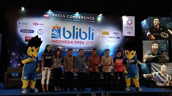 Blibli Indonesia Open 2019 Akan Berikan Keseruan di Dalam dan Luar Lapangan