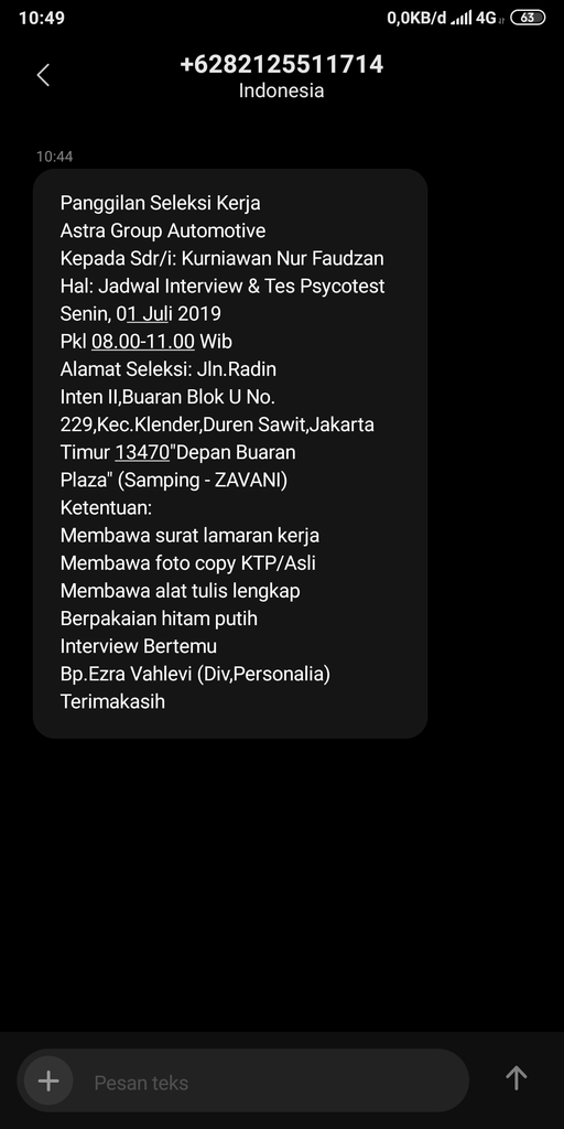 Saya Jaga Dapet Gmail Dari Pt Astra Group Bang Kaskus