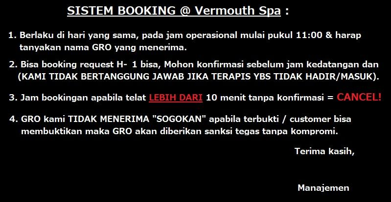 ◊◊◊ VERMOUTH SPA - ANOTHER ENTERTAINMENT (2nd BRANCH) @ KELAPA GADING ◊◊◊