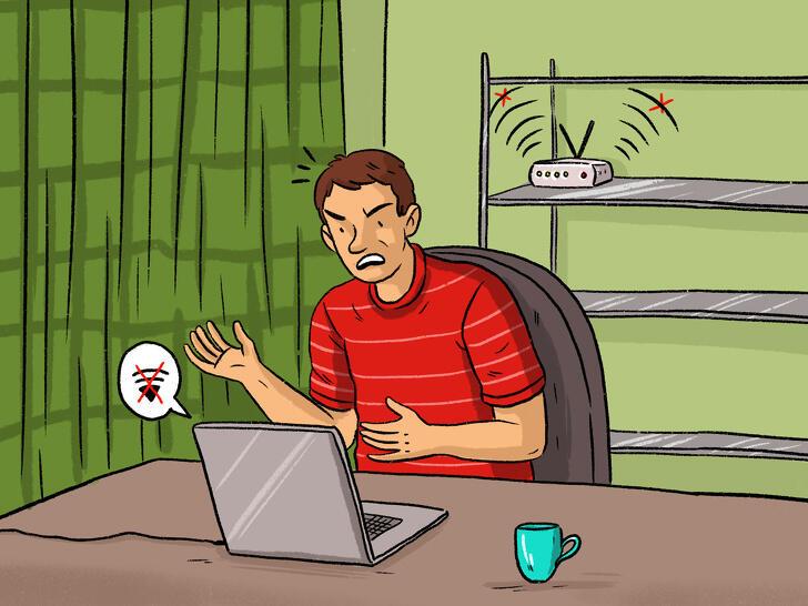 Peralatan Sehari-hari yang Membuat Kecepatan WiFi Memburuk
