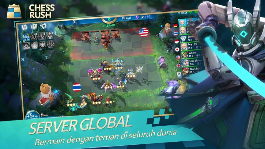 [HOT NEWS] Chess Rush, game bergenre auto battler akan dirilis oleh Tencent