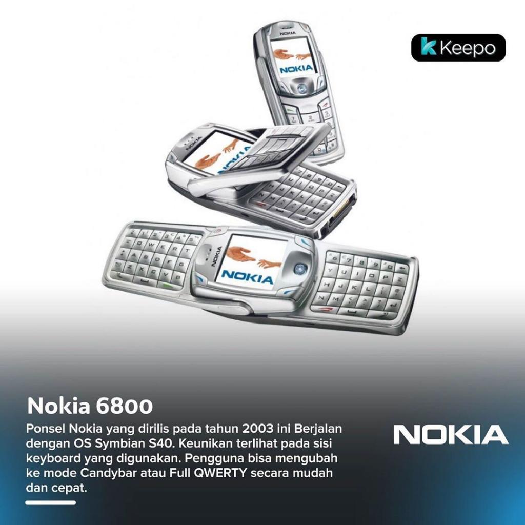 6 Hp Nokia Jadul Dengan Desain Paling Unik Kaskus