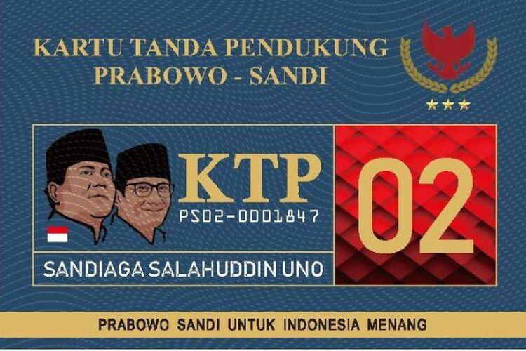 [KLARIFIKASI] Penjelasan Gerindra soal KTP Prabowo-Sandiaga