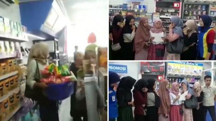 Video Sekelompok Cewek Ubrak-Abrik Minimarket, Setelah Viral Cuma Minta Maaf