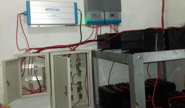Proses Pemasangan dan Penginstalan PLST di Kab. Sumba Barat