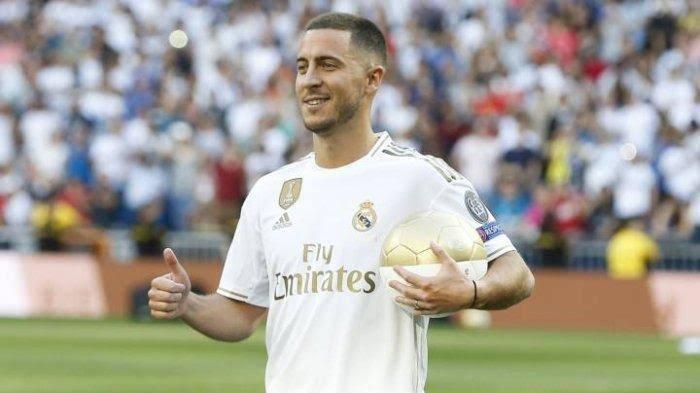 Jersey Hazard Tidak Punya Nomor, Mungkinkah Hazard Mewarisi Nomor Punggung Ronaldo?