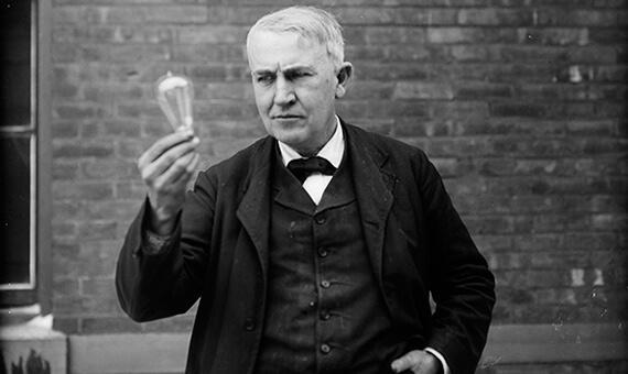 Belajar arti gagal dari Thomas Alva Edison