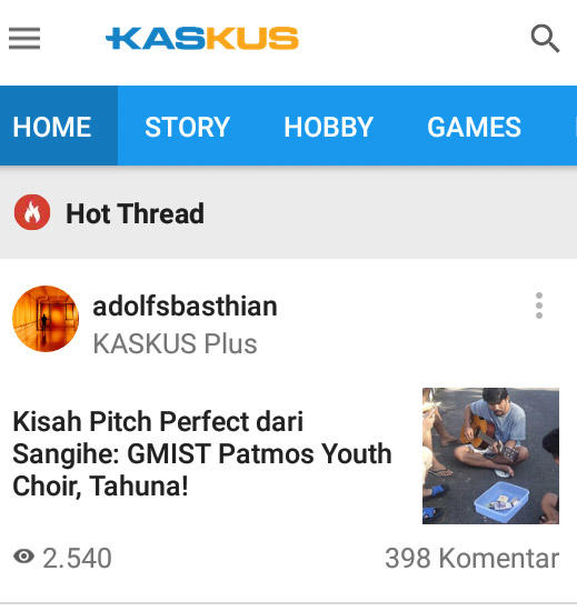 Kisah Pitch Perfect dari Sangihe: GMIST Patmos Youth Choir, Tahuna!