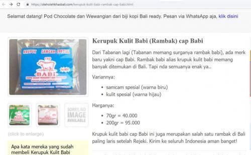 Netizen Geram Ada Logo Halal di Kerupuk Babi, Berikut Faktanya