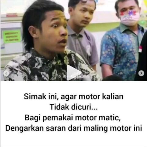 Setelah Tertangkap! Maling Ini Kasih Tahu Tips & Trik Agar Motor Matic Tidak Dicuri
