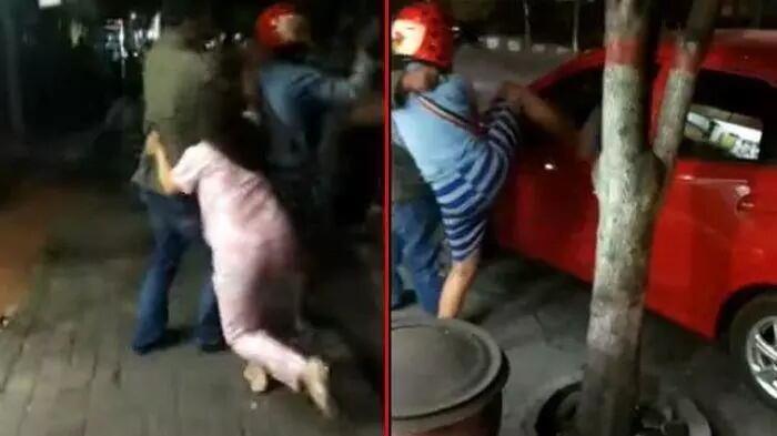 Video Viral Istri Ke-2 Adu Jotos dengan Istri ke-3, Suami Bingung Pisahkan yang Mana
