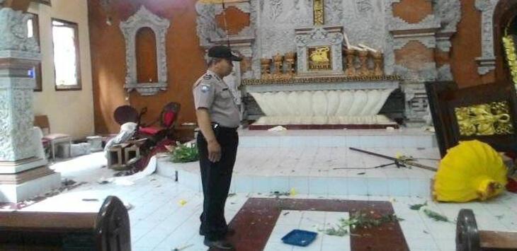 Perusak Gereja Katolik di Denpasar Tak Ditahan