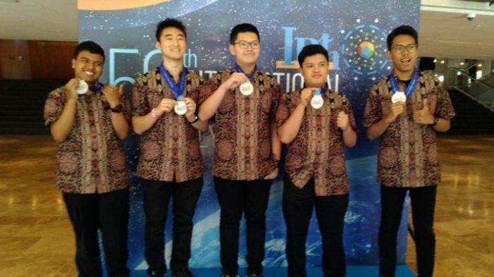 Sejumlah Siswa Indonesia Raih Prestasi di Olimpiade Fisika Dunia Israel