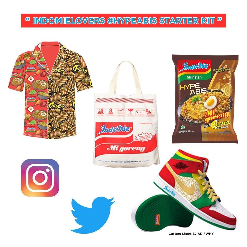 Geger Indomie Bagi-bagi Paket #KolabNtap Gara-gara orang Ini, #HypeAbis Gan!