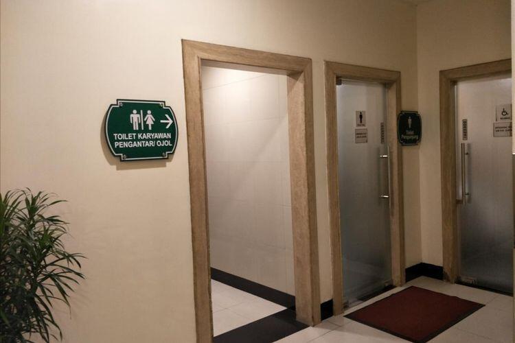 Puri Indah Mall Pisahkan Toilet Pengemudi Ojek Online dengan Toilet Pengunjung