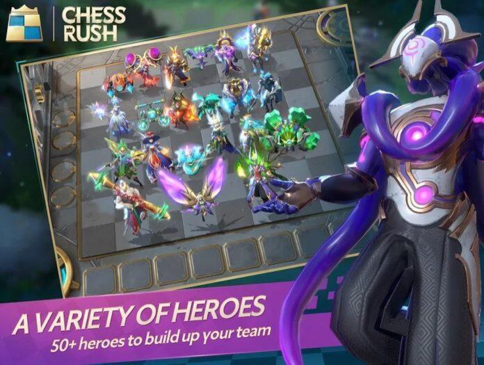 5 alasan kenapa kamu wajib main game CHESS RUSH sekarang juga!!