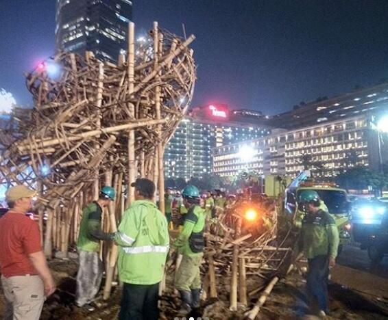 Gerindra Minta Masyarakat Tak Salahkan Anies Soal Pembongkaran Getih Getah di HI