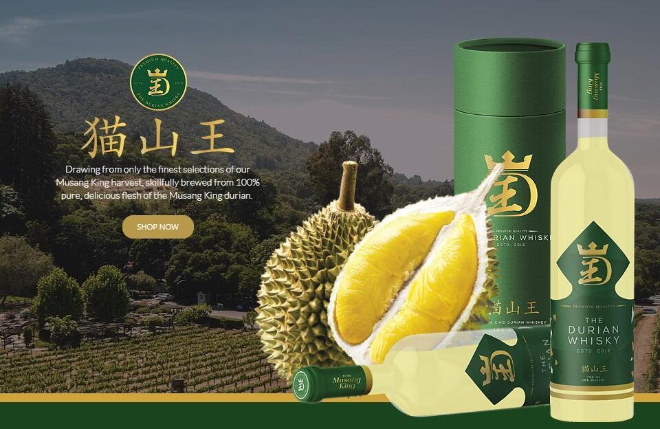Ini Baru Mabuk Durian, Whiskey rasa Durian. Produknya Menjadi Perdebatan di Singapura
