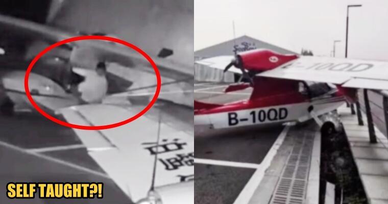 """Duh! Bocah Umur 13 Tahun Nekat """"MENCURI"""" 2 Pesawat Terbang Dari BANDARA!"""