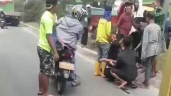 Sopir Truk Tembak Mati Pemalak di Simpang Lampu Merah Macan Lindungan Palembang