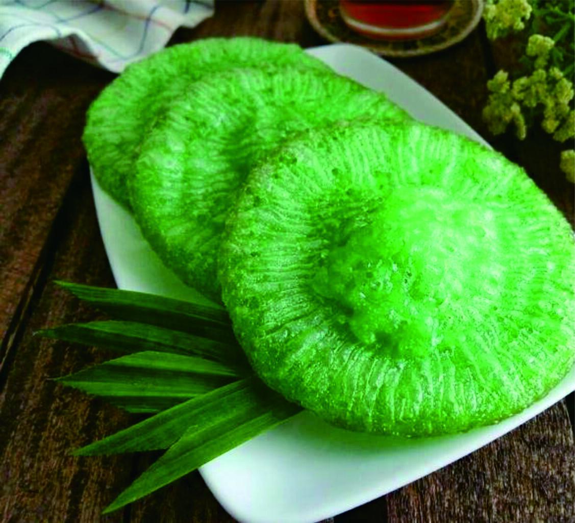 Resep Andalan Cara Membuat Kue Cucur Pandan