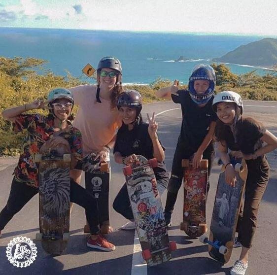 TOP 20 KOMPAK: Longboard Girls Crew Indonesia