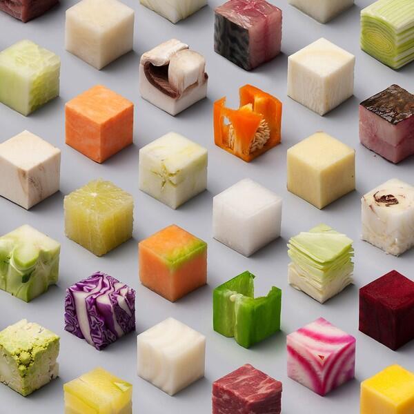Inilah Bentuk Makanan Di Masa Depan, Bikin Nafsu Gak?