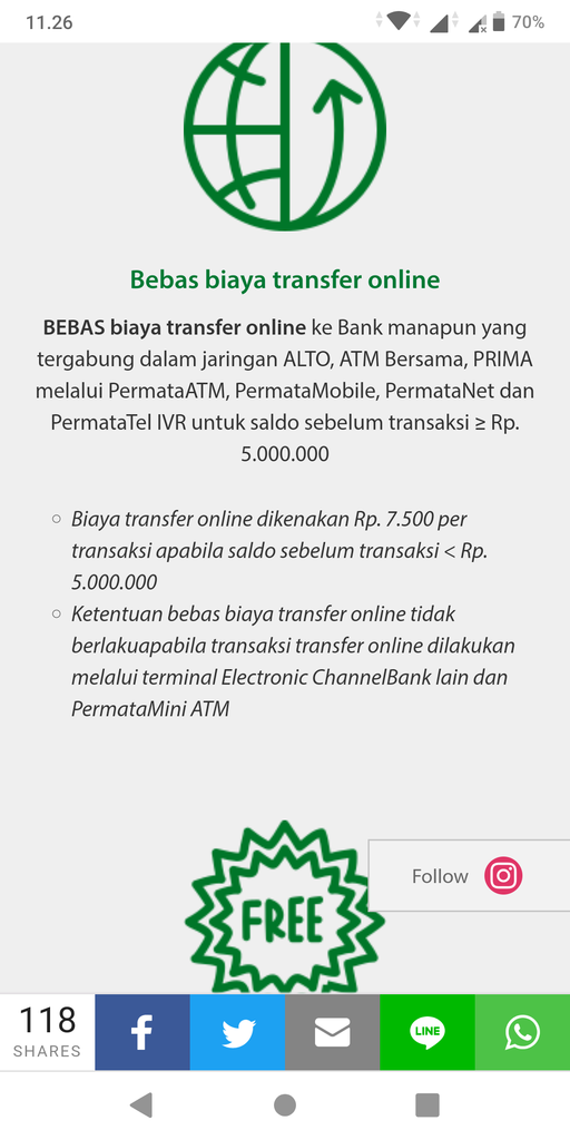 [DISKUSI] Informasi Rekening Bank - Part 6