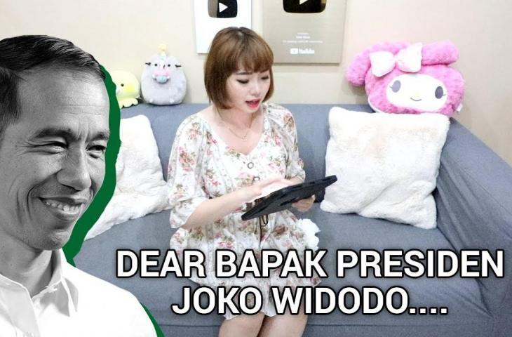 Ternyata Ini Maksud KIMI HIME Sebut Nama Jokowi Dalam Video Youtube