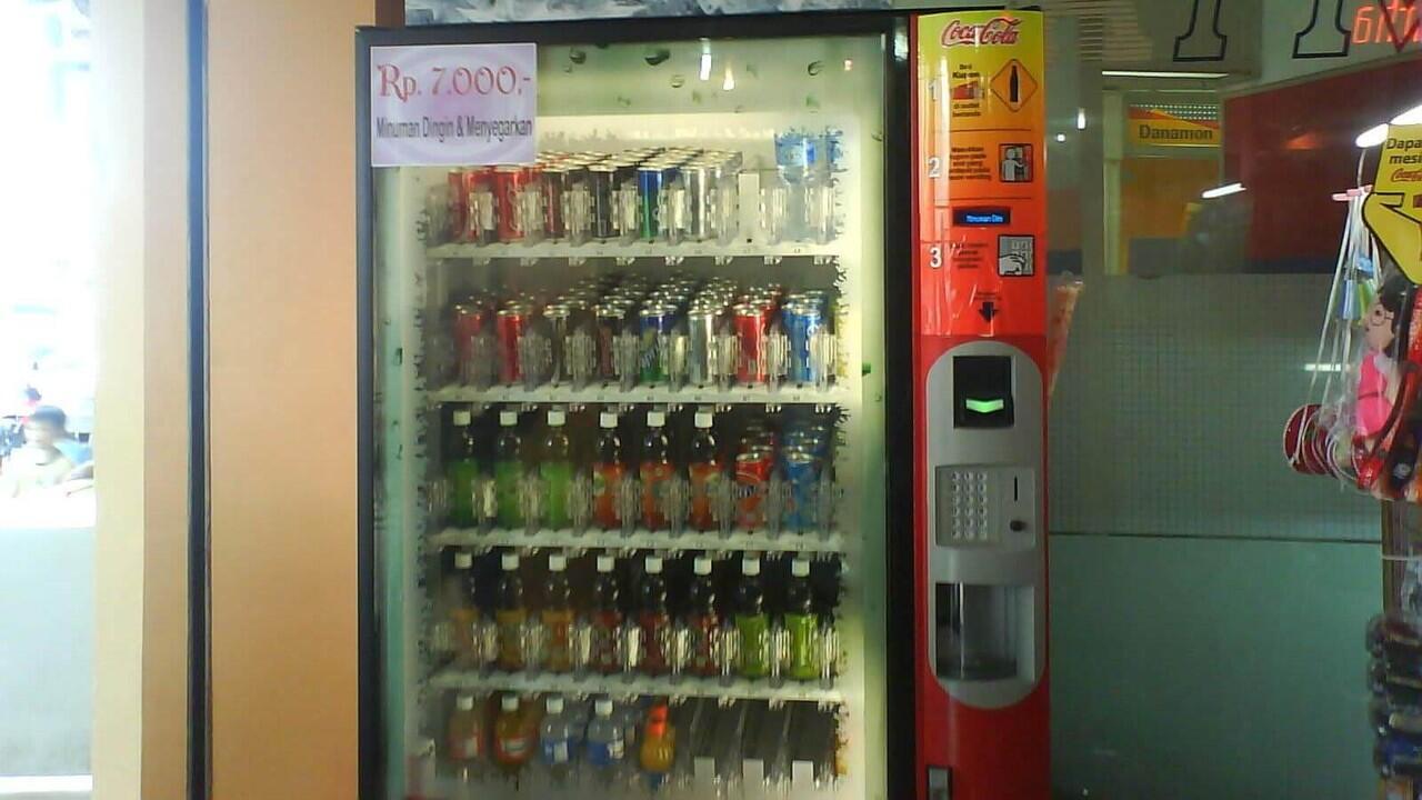 Perkembangan Vending Machine Minuman