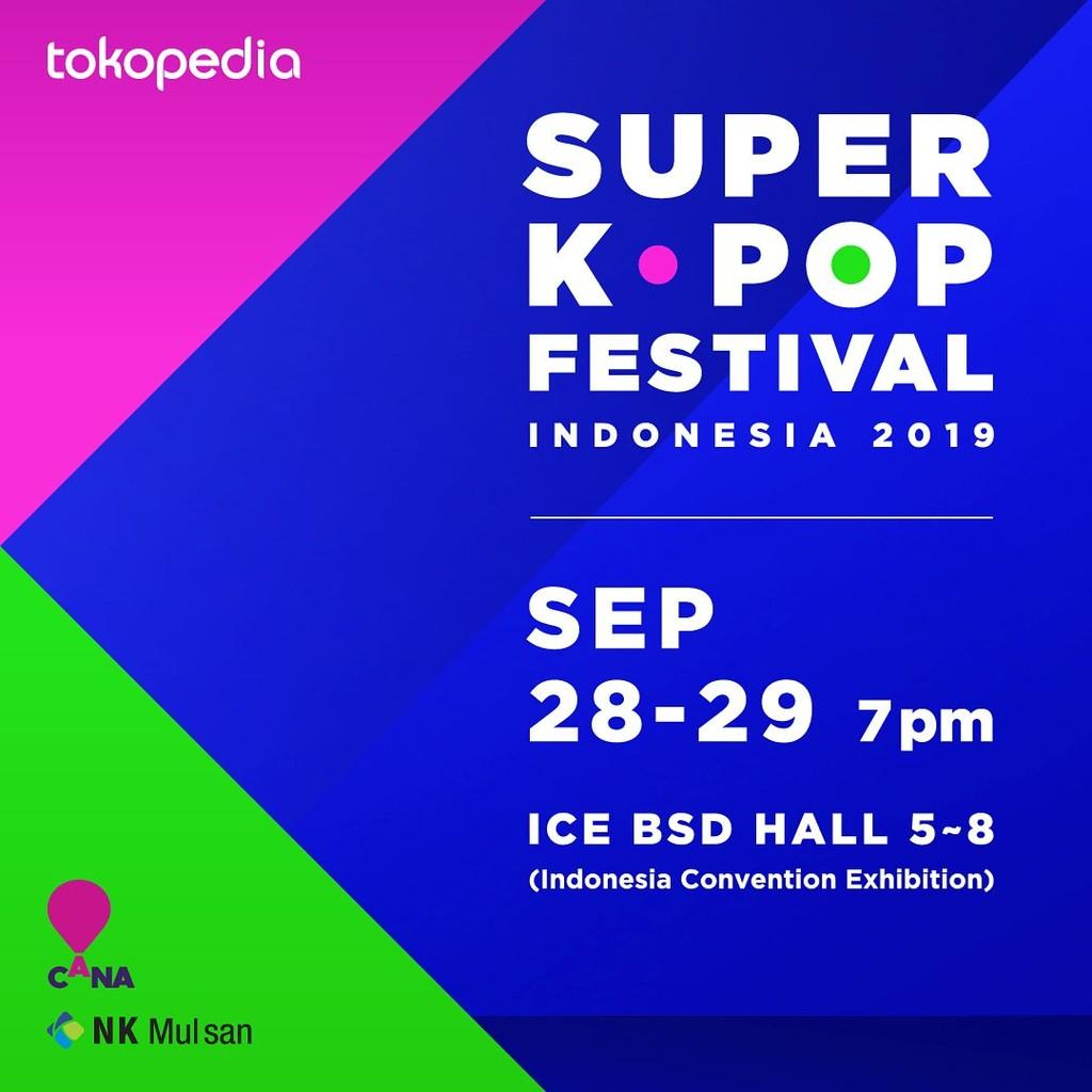 Final Line Up Super KPop Festival Indonesia 2019: Ada Tiffany 'SNSD'!