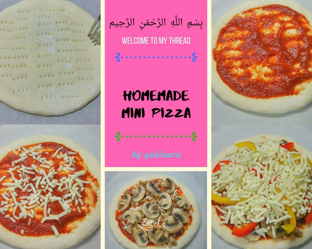 Homemade Mini Pizza Paling Enak By Yukinura, Nggak Percaya? Silahkan Dicoba!!
