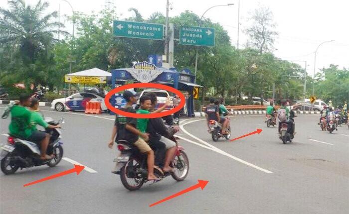 Fenomena Suporter Bola Ugal-Ugalan di Jalan Raya. Bikin Malu!