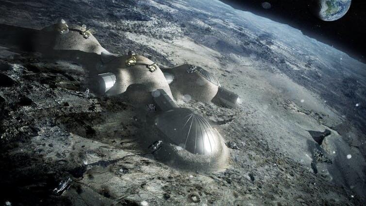 Ternyata Kita Lebih Berpotensi Tinggal di Bulan Ketimbang Mars Jika