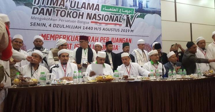Ijtimak Ulama IV Serukan NKRI Syariah Berdasarkan Pancasila